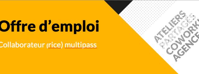 offre emploi | animation - suivi commercial - fablab - makerspace - coworking