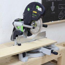 atelier bois, Scie radiale, bois, découpe, atelier, machine, professionelle, festool KS 120 EB,