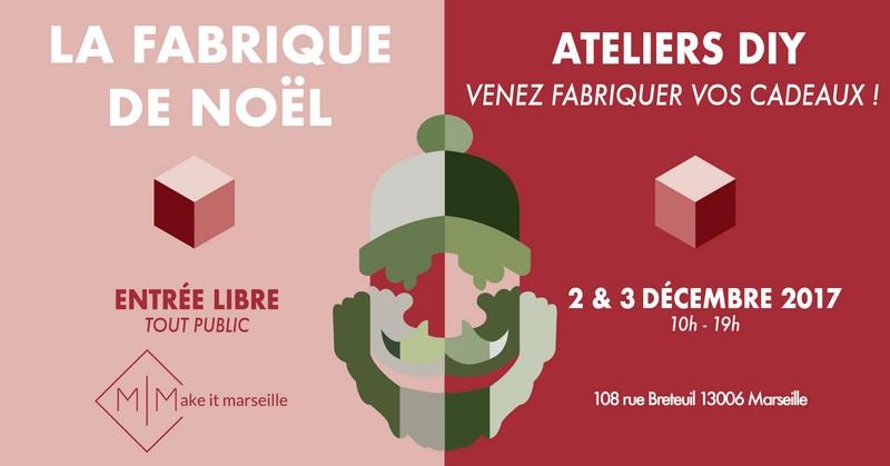Marché de Noël créatif à Marseille, fabrique de noel, evenement, DIY, cadeau, joyeux noel, fabriquer, atelier, enfants, famille,