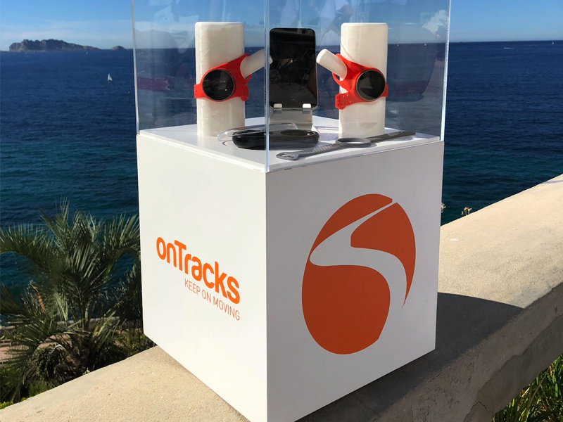 présentoir et socle sur mesure, ontracks, production plotter, 3D, Make it Marseille