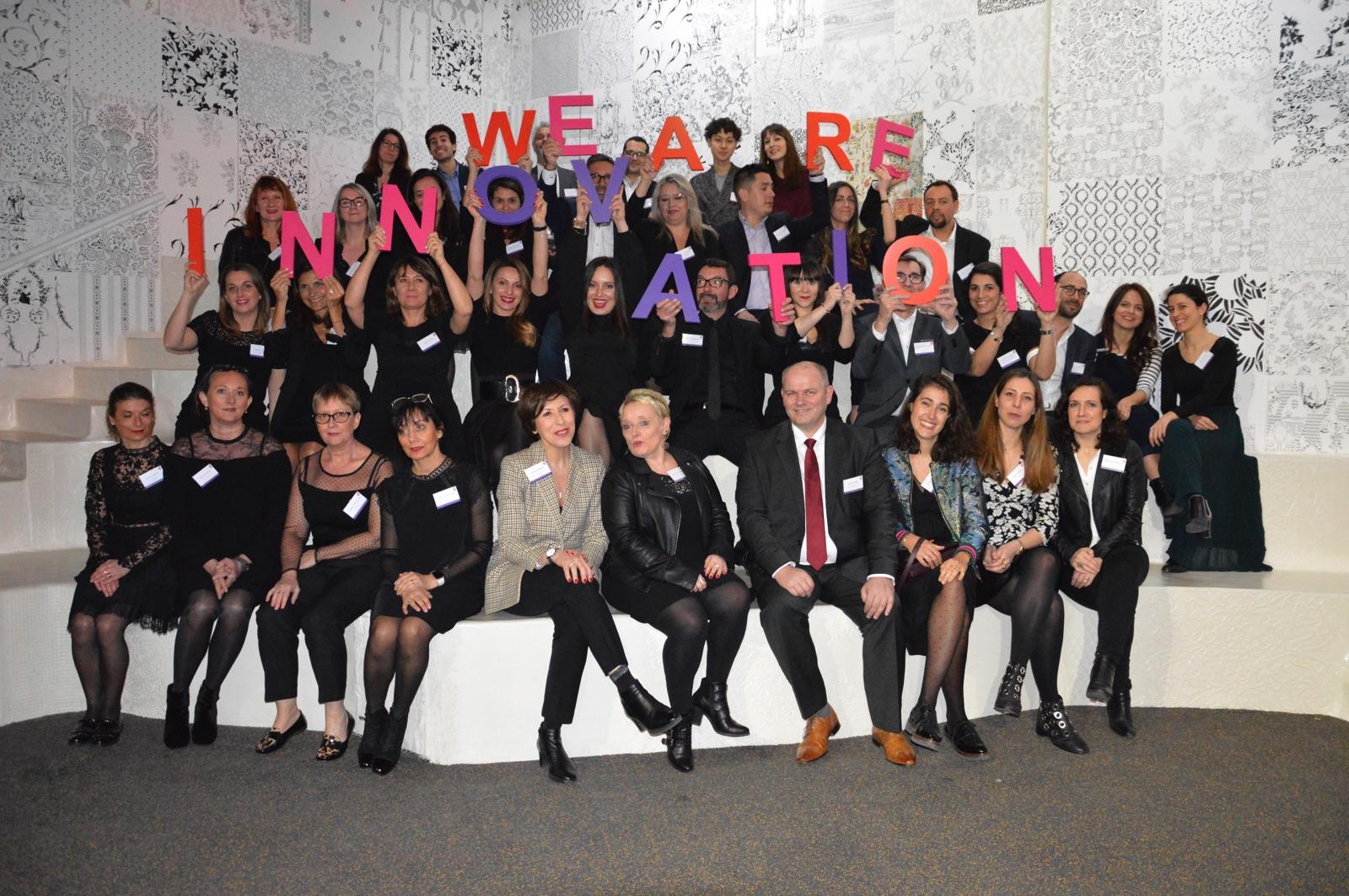 campagne we are innovation, communication, galeries lafayette, usinage de lettrage, remise des prix, make it marseille