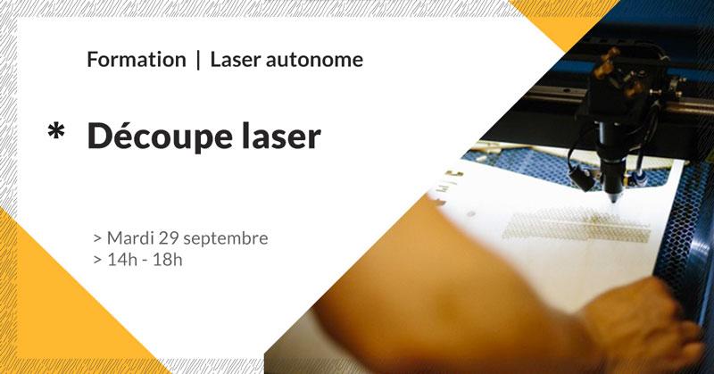 formation découpe laser - septembre 2020 - Make it Marseille
